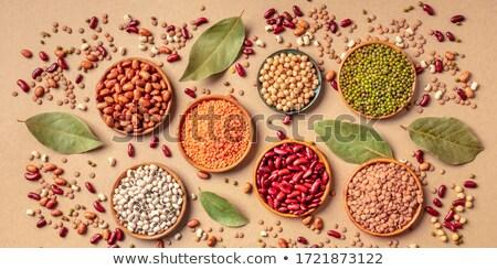 Variëteit gedroogd peulvruchten weinig Stockfoto © BarbaraNeveu