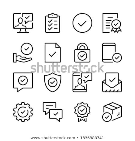 observância · palavra · dobrador · cartão · foco · negócio - foto stock © andreypopov