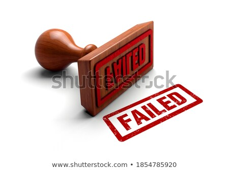 fail red text 3d stock photo © djmilic