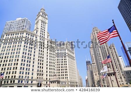 Wrigley Building and Tribune Building   Stock photo © benkrut