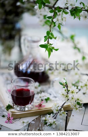 Thorny liquor..style vintage. selective focus Stock photo © zoryanchik