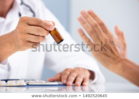 Patient Refusing To Use Medication Stock photo © AndreyPopov