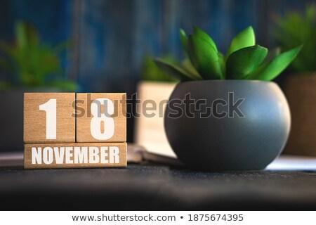 Cubes 18th November Stock photo © Oakozhan