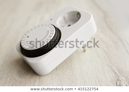 Elektrische timer bedieningspaneel technologie Stockfoto © nomadsoul1