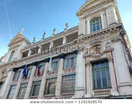 здании опера Nice Франция мнение небе Сток-фото © boggy