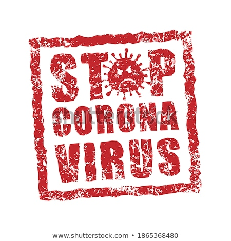 Virus Rubber Stamp Vector Stock photo © THP