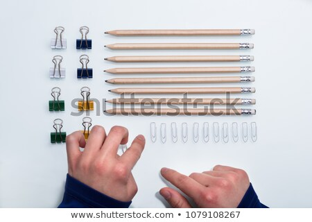 Perfectionist With OCD Stock photo © AndreyPopov