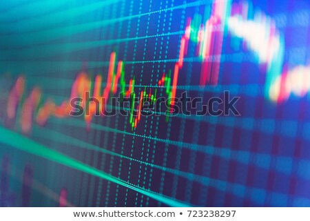 Gewinn up Worte Tortendiagramm Tafel Business Stock foto © Ansonstock