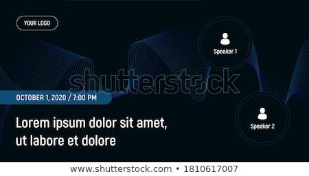Codering workshop banner script schrijven Stockfoto © RAStudio