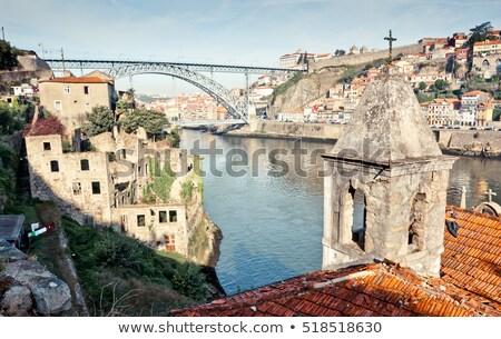 橋 川 現代 道路 橋 ワイン ストックフォト © ribeiroantonio