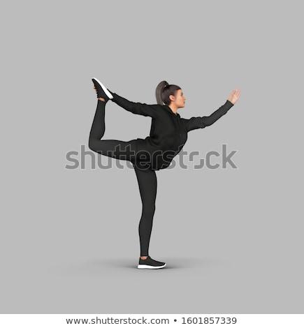 atrakcyjna · kobieta · perfect · body · cellulit · portret · dziewczyna - zdjęcia stock © iko