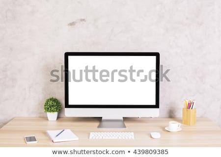 инструменты · экране · компьютера · работу · оборудование · бизнеса · технологий - Сток-фото © adamr
