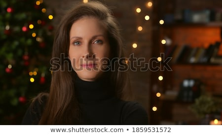 european woman looking on camera Stock photo © leedsn