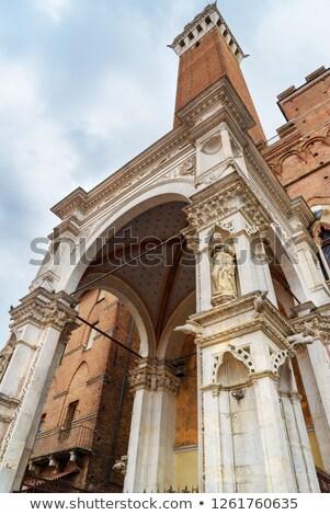 Siena - Capella di Piazza Stock photo © wjarek