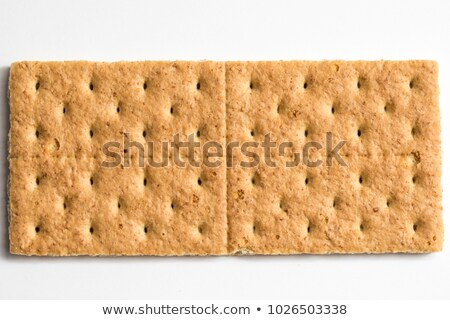 Graham cracker background or texture Stock photo © ozaiachin