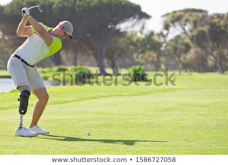 legs of golfer stock photo © nuiiko