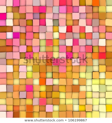 abstract 3d gradient backdrop cubes in happy fruity colors  Stock photo © Melvin07