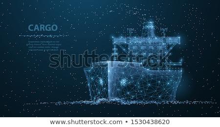 抽象的な 船 サイド ドア ストックフォト © sbonk