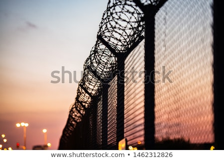Security fence Stock photo © broker
