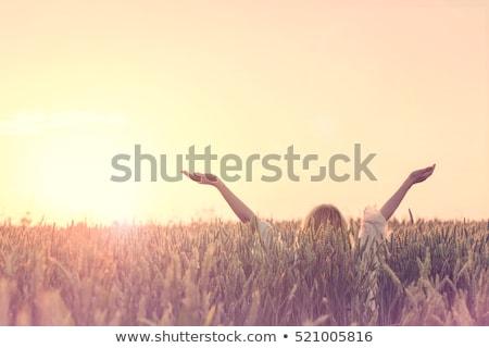 Nők átkarol új élet nő gyermek élet Stock fotó © photography33