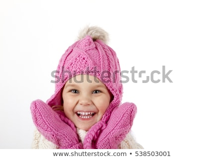 Little girl wearing jumper outdoors Stock photo © photography33