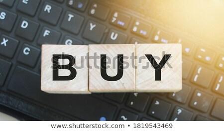kırmızı · klavye · düğme · siyah · bilgisayar · klavye - stok fotoğraf © fotoscool