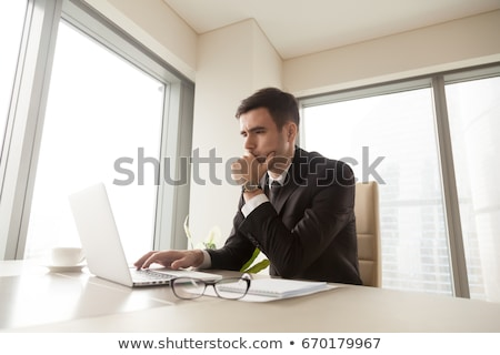 businessman looking concerned Stock photo © photography33