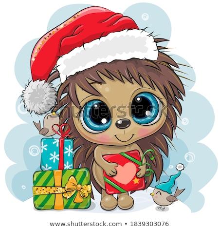Christmas cutie. Stock photo © lithian
