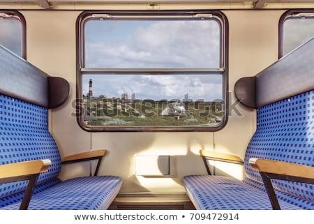 ウィンドウ 古い 鉄道 コンパートメント ビジネス 背景 ストックフォト © haraldmuc