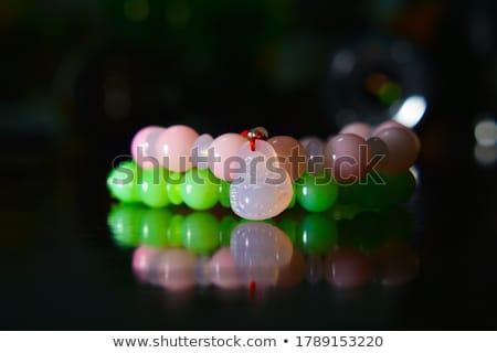 Armband geïsoleerd steen kleur geschenk ring Stockfoto © tshooter