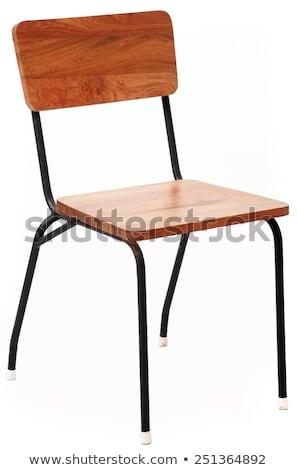 oficina · marrón · silla · aislado · blanco · textura - foto stock © ozaiachin