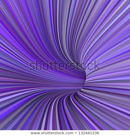 3d túnel tuberías múltiple púrpura magenta Foto stock © Melvin07