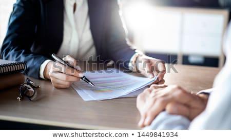 financial advice stock photo © lightsource