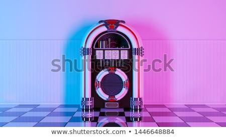 Jukebox Stock photo © cteconsulting