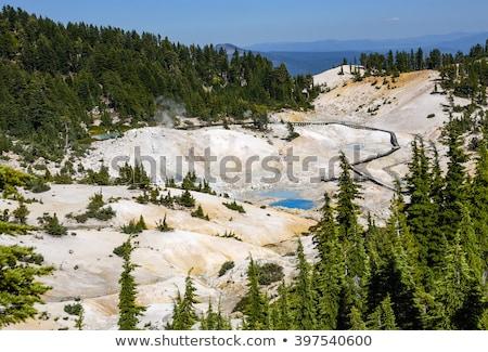 Hel vulkanisch park Californië lege landschap Stockfoto © snyfer