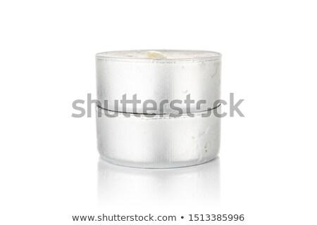 karácsony · dekoráció · koszorú · hópehely · harisnya · konzerv - stock fotó © mintymilk