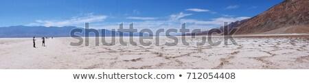 death valley panorama bad water basin stock photo © weltreisendertj