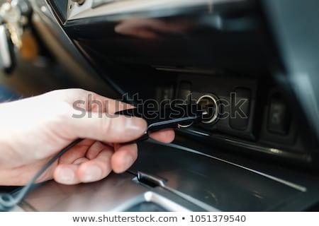 Сток-фото: стороны · автомобилей · сигарету · легче · белый