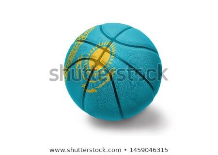 Medalha de ouro esportes bandeira Cazaquistão vencedor Foto stock © vepar5
