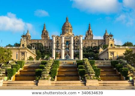 parlamento · Barcelona · İspanya · görmek - stok fotoğraf © photosil