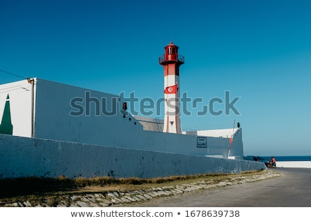 Lighthouse in Mahdia, Tunisia Stock photo © Kayco