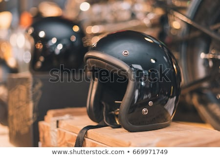 Wooden Face Helmet Stock photo © rghenry