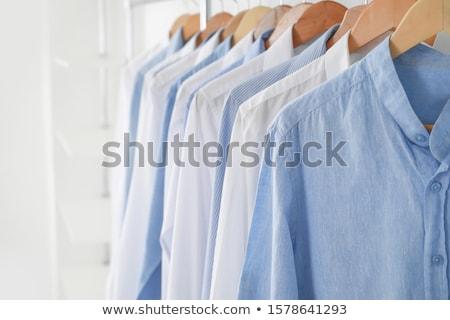 Laundry drying Stock photo © Hofmeester