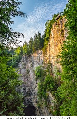 пещере Чешская республика север город города Сток-фото © Kayco