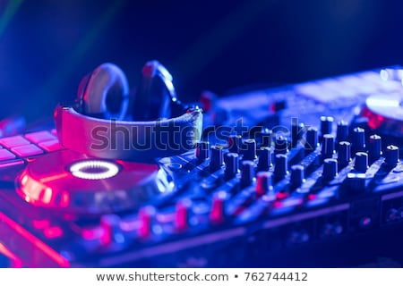 deejaying stock photo © shivanetua