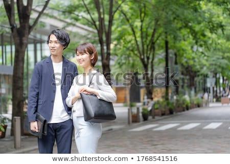 green businessman stock photo © lightsource