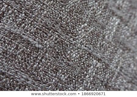 Witte koord geïsoleerd knoop touwen duurzaam Stockfoto © djemphoto