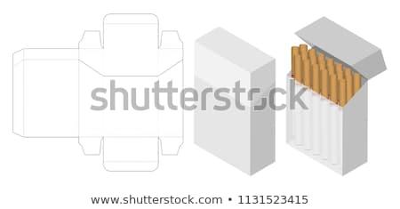 Cigarette box Stock photo © flipfine