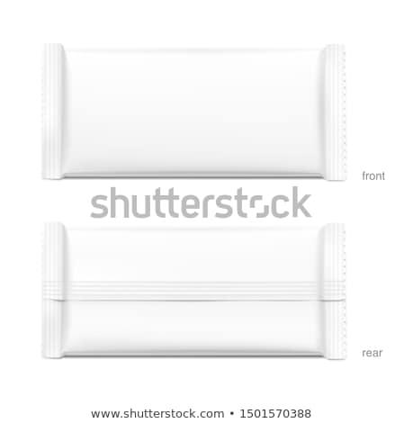 doboz · papírzsebkendő · izolált · fehér · vágási · körvonal · kép - stock fotó © jarp17