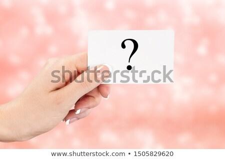 atraente · mulher · de · negócios · marcador · caneta - foto stock © stevanovicigor